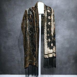 Silk Reversible Shawl/Scarf/Wrap